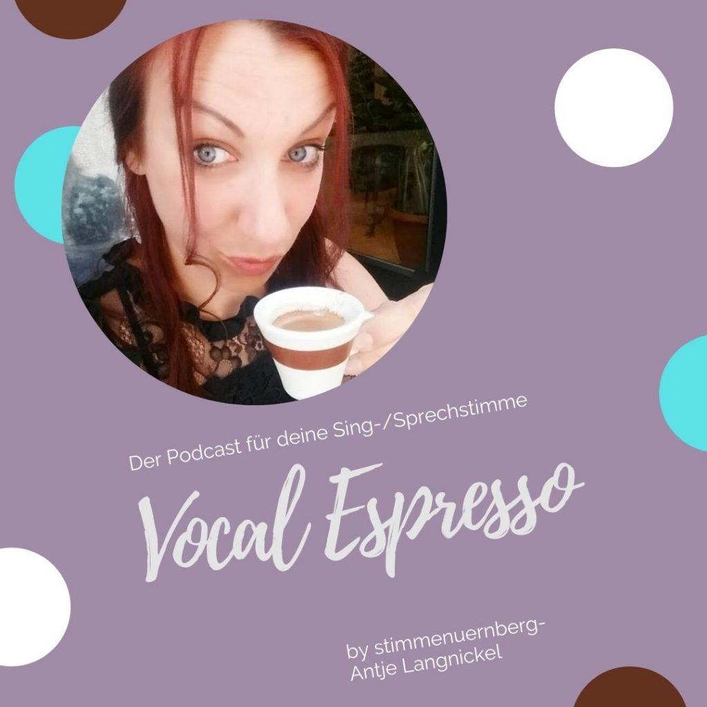 """Podcast """"Vocal Espresso"""""""